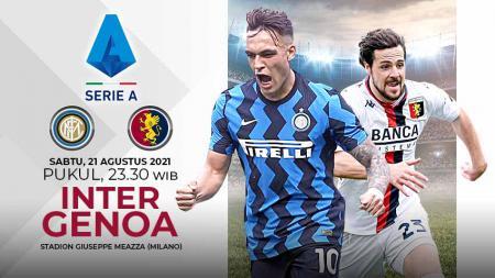 Pertandingan antara Inter Milan vs Genoa (Serie A Italia). - INDOSPORT