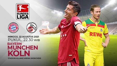 Pertandingan antara Bayern Munchen vs Koln (Bundesliga). - INDOSPORT