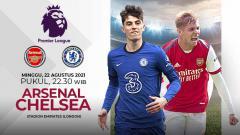 Indosport - Laga seru akan mewarnai pekan kedua Liga Inggris ketika Arsenal menjamu Chelsea, Minggu (22/08/21) pukul 23.30. Berikut data dan fakta jelang pertandingan tersebut.