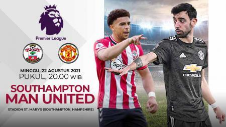 Pertandingan antara Southampton vs Manchester United (Liga Inggris). - INDOSPORT