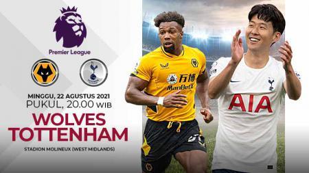Pertandingan antara Wolves vs Tottenham Hotspur (Liga Inggris). - INDOSPORT