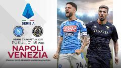 Indosport - Pertandingan antara Napoli vs Venezia (Serie A Italia).