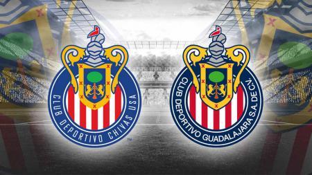 Logo CD Chivas USA dan Logo CD Guadalajara - INDOSPORT