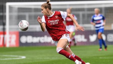 Penyerang tim wanita Arsenal, Vivianne Miedema. - INDOSPORT