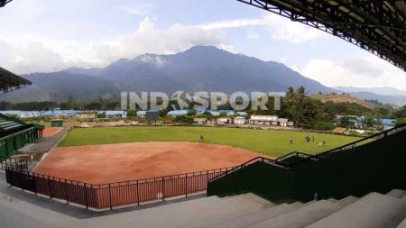 Venue softball PON XX Papua. - INDOSPORT