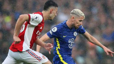 Meme kocak turut mewarnai momen kekalahan Arsenal usai dipencundangi oleh Chelsea di pekan kedua Liga Inggris 2021-22, Minggu (22/08/21) malam WIB. - INDOSPORT
