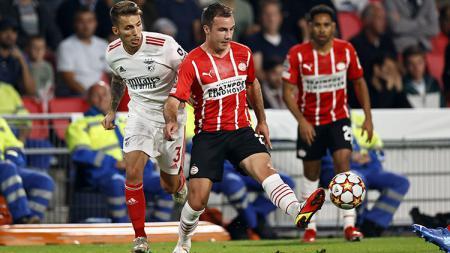 PSV Eindhoven vs Benfica. - INDOSPORT
