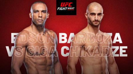 Edson Barboza vs Giga Chikadze - INDOSPORT
