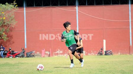 Gelandang PSM Makassar alumni Garuda Select, M Rafli Asrul. - INDOSPORT