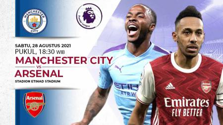 Manchester City vs Arsenal - INDOSPORT