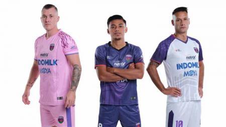 Jersey Persita Tangerang untuk Liga 1 2021-2022. - INDOSPORT