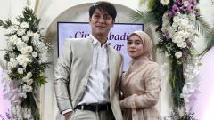 Indosport - Pasangan selebriti Rizky Billar dan Lesti Kejora.
