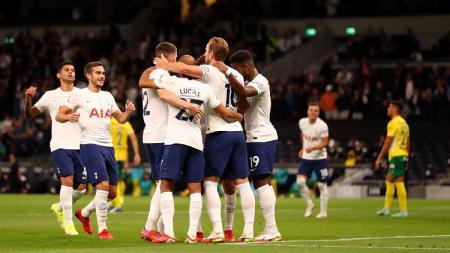 Berikut ini adalah link live streaming pertandingan matchday kedua UEFA Conference League atau Liga Konferensi Eropa 2021/2022 Grup G yang mempertemukan Tottenham Hotspur dan NS Mura. - INDOSPORT
