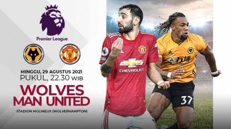 Pertandingan antara Wolves vs Manchester United (Liga Inggris). - INDOSPORT