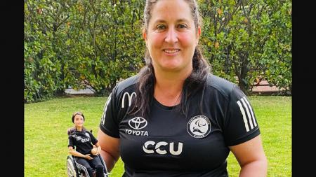 Atlet paralimpiade asal Chile, Franisca Mardones. - INDOSPORT