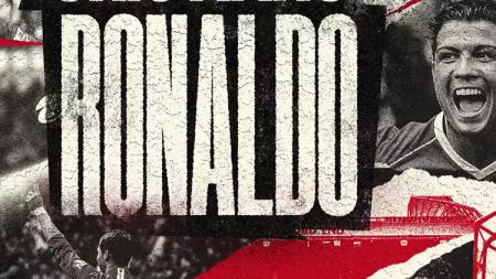 Cristiano Ronaldo resmi kembali ke Manchester United. - INDOSPORT