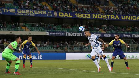 Verona vs Inter Milan. - INDOSPORT