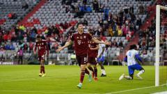 Indosport - Bayern Munchen sukses menang besar atas tamunya, Hertha Berlin, pada laga lanjutan pekan ketiga Bundesliga Jerman