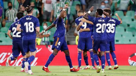 Badai cedera bisa persulit Real Madrid dalam persiapan duel dengan Shakhtar Donetsk di matchday ketiga fase grup D Liga Champions 2021/2022. - INDOSPORT