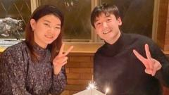 Indosport - Kebersamaan Ayaka Takahashi dengan suami Yuki Kaneko