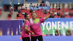 Indosport - Hary Susanto dan Ukun Rukaendi atlet parabadminton indonesia ikut ajang di Tokyo 2020