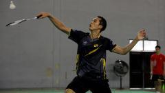 Indosport - Pebulutangkis Jonatan Christie kembali aktif berlatih di Pelatnas mengenakan jersey tim eSports Team RRQ.