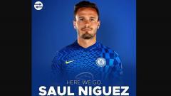 Indosport - Chelsea boyong Saul Niguez dari Atletico Madrid