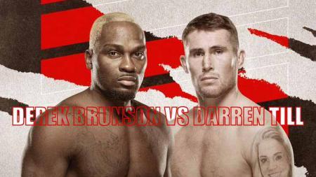 Derek Brunson vs Darren Till - INDOSPORT