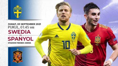 Swedia vs Spanyol - INDOSPORT