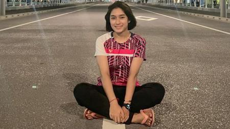 Thet Htar Thuzar, pebulutangkis asal Myanmar. - INDOSPORT