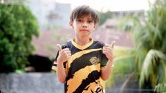 Indosport - Rasyah Rasyid, pemain milik EVOS Immortal di ajang Free Fire Master League Season IV