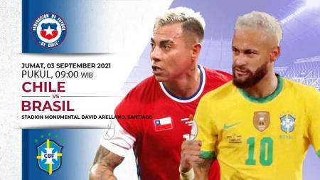 Prediksi Chile vs Brasil - INDOSPORT