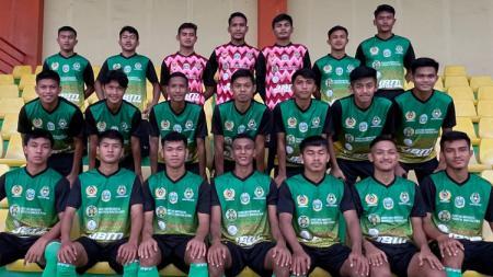 Tim sepak bola Sumut untuk PON Papua 2021. - INDOSPORT