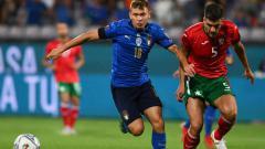 Indosport - Pertandingan italia vs Bulgaria