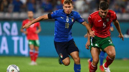 Italia vs Bulgaria di Kualifikasi Piala Dunia 2022 zona Eropa, Jumat (03/09/21) dini hari WIB. - INDOSPORT