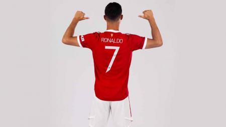 Cristiano Ronaldo, nomor punggung 7. - INDOSPORT