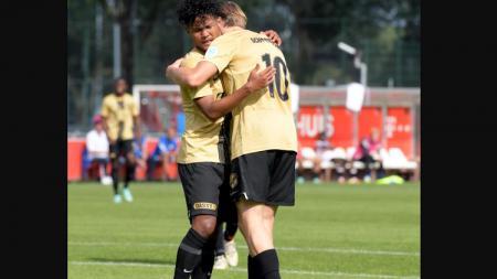 Penampilan Bagus Kahfi usai mencetak dua gol dan membawa timnya menang mendapatkan sanjungan dari FC Utrecht. - INDOSPORT
