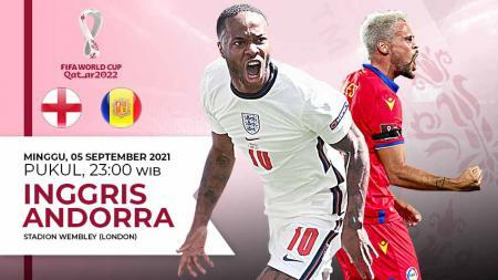 Pertandingan antara Inggris vs Andorra (Kualifikasi PD Eropa). - INDOSPORT
