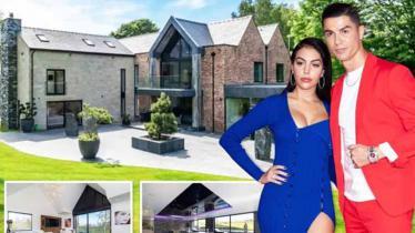 Penampakan Rumah Cristiano Ronaldo di kota Manchester - INDOSPORT