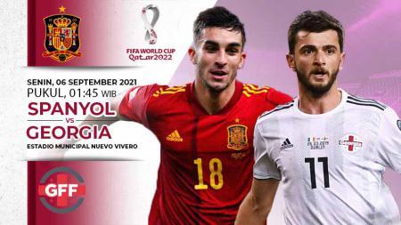 Prediksi Spanyol vs Georgia - INDOSPORT
