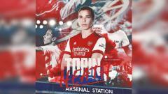 Indosport - Tobin Heath, pemain anyar Arsenal.