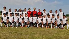 Indosport - Skuat klub Liga 3, Depok City FC.