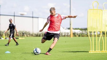 Romeo Beckham resmi bergabung klub sepak bola Fort Lauderdale CF. - INDOSPORT