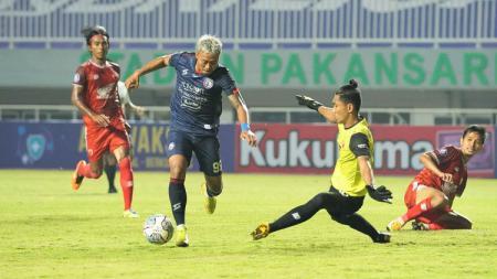 Pertandingan BRI Liga 1 2021-2022 antara PSM Makassar vs Arema FC pada Minggu (05/09/21). - INDOSPORT