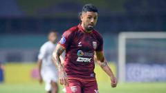 Indosport - Jonathan Bustos, pemain Borneo FC.