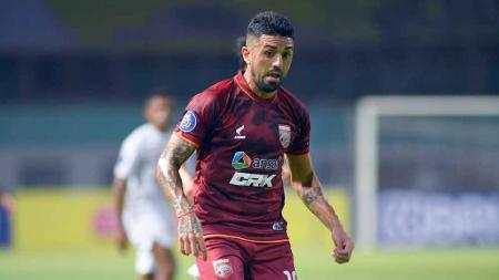Jonathan Bustos, pemain Borneo FC. - INDOSPORT
