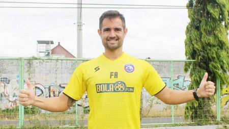 Pelatih kiper Arema FC, Felipe Americo Martins Goncalves - INDOSPORT
