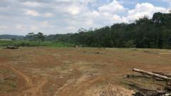 Indosport - Lokasi pembangunan training center PSIS di Kawasan Salam Sari, Boja, Kabupaten Kendal.