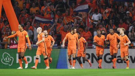 Hasil Kualifikasi Piala Dunia 2022 Belanda vs Gibraltar: Depay Menggila, De Oranje Berpesta - INDOSPORT