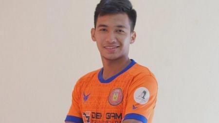 Pemain Persiraja Banda Aceh, Muhammad Nadhif. - INDOSPORT